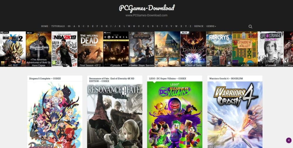 PCGames-Download review