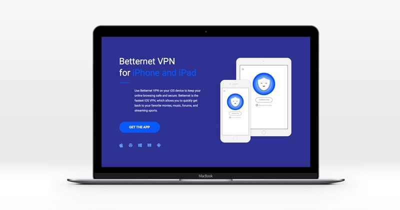 download and install betternet vpn