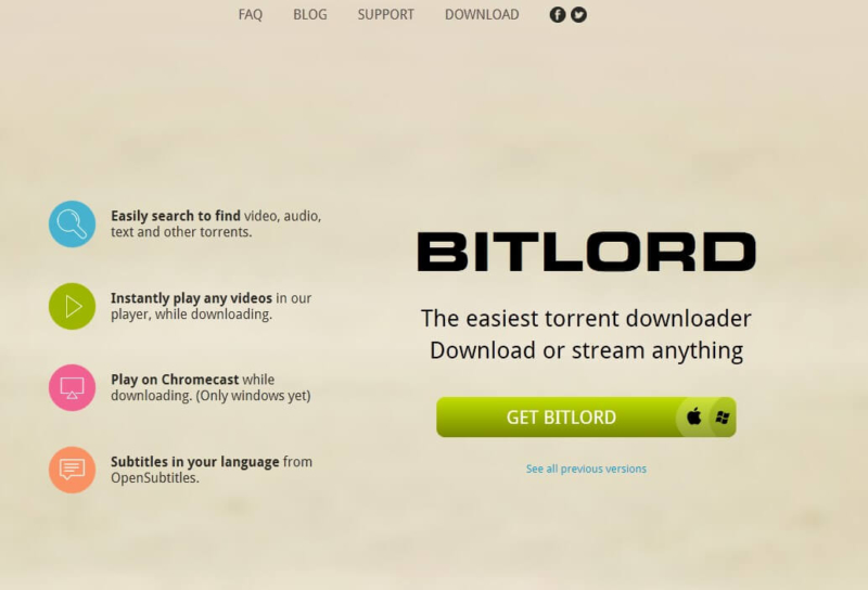 BitLord vs uTorrent - BitLord's home page