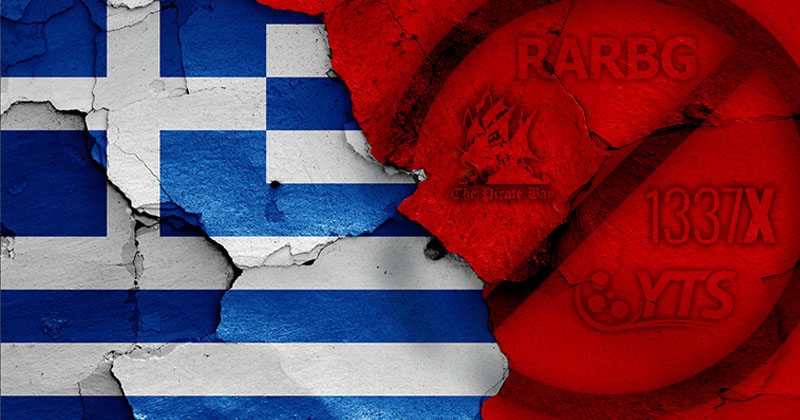 Greece blocked torrenting