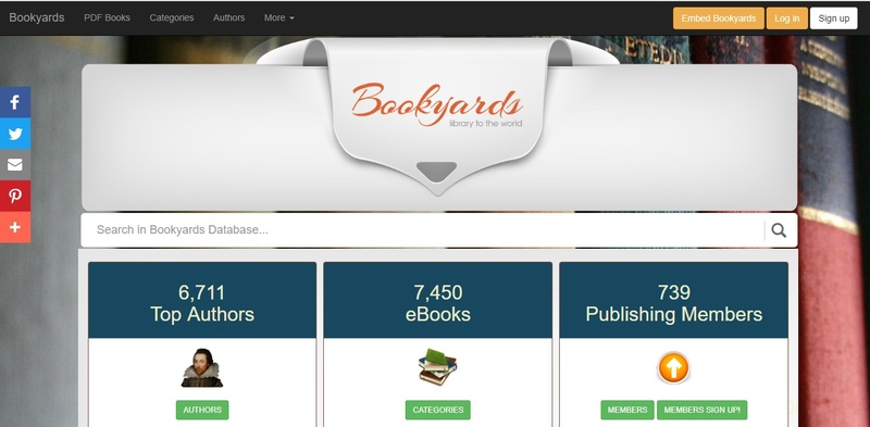 Bookyards torrent site review