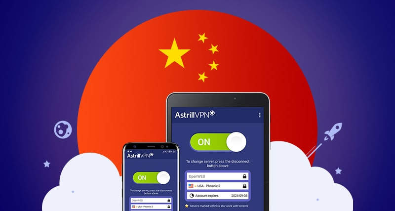 astrill vpn for china