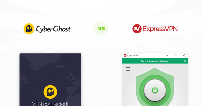 CyberGhost vs ExpressVPN comparison