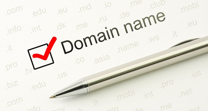 Domain name checked