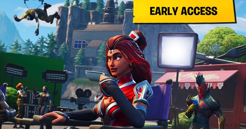 Change your IP address to get access to Fortnite game