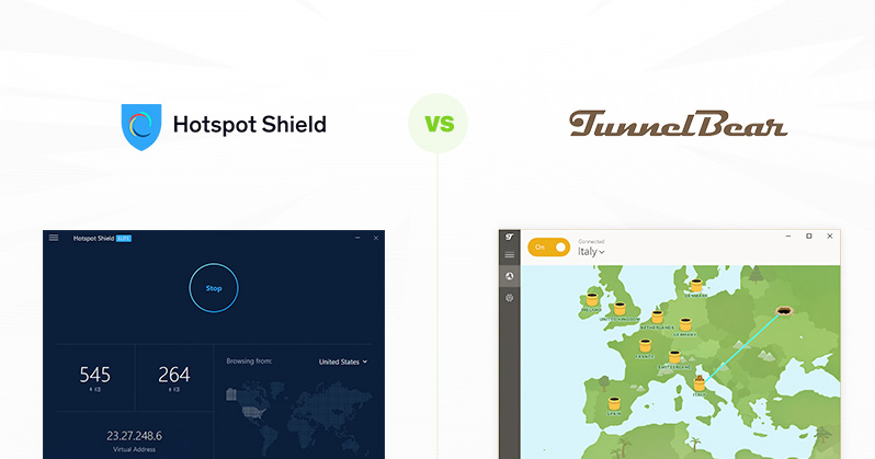 Hotspot Shield vs TunnelBear - Which is More Secure? | VPNpro