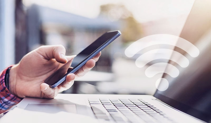 VPN Connection Over Wi-Fi
