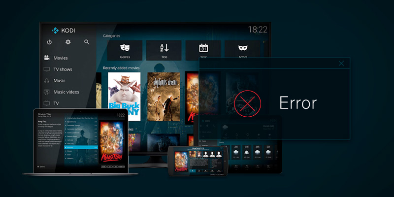How to fix 'Failed to install dependency' on Kodi