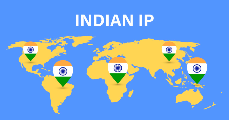 Indian IP address