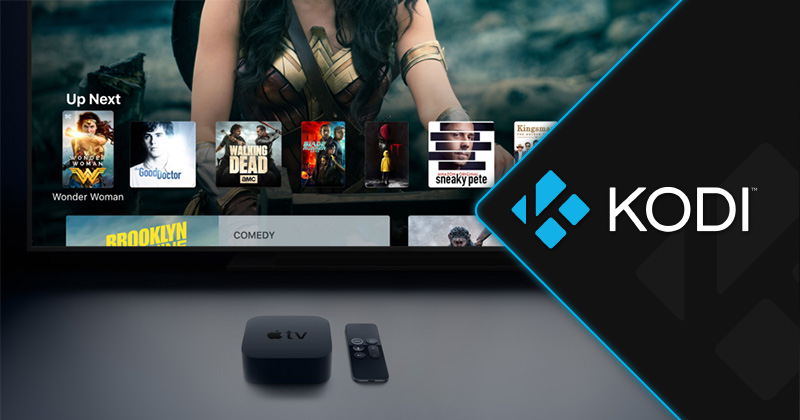 installing Kodi on Apple TV