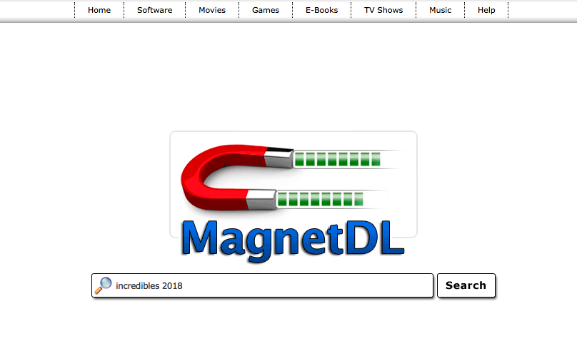 MagnetDL's home page