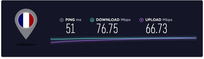 nord vpn speed