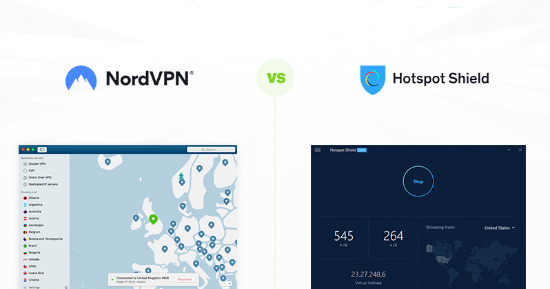 NordVPN vs Hotspot Shield - find out why this VPN easily wins | VPNpro