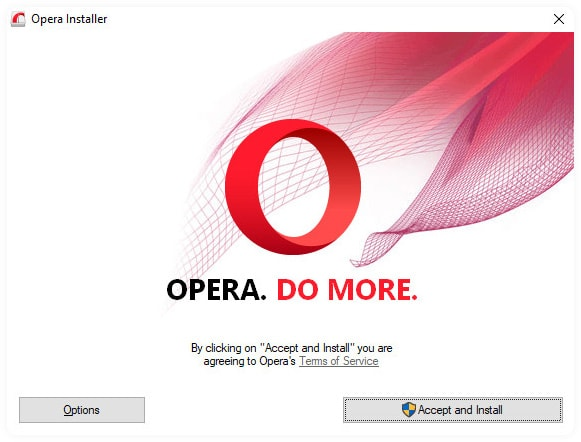 download and install opera vpn