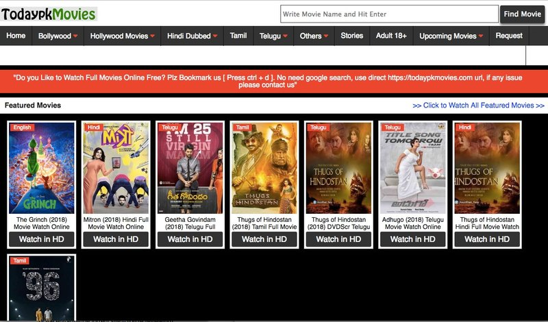 sites to download telugu movies free