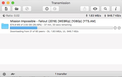 Transmission torrent client review