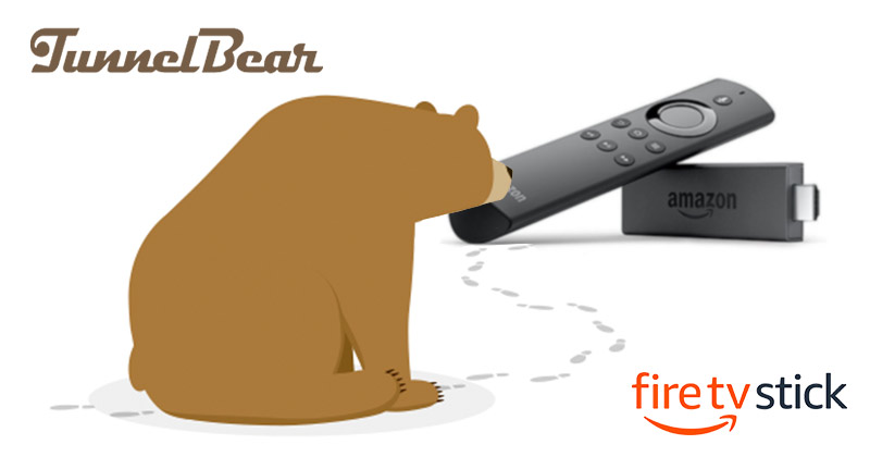 Does TunnelBear work with Fire Stick?