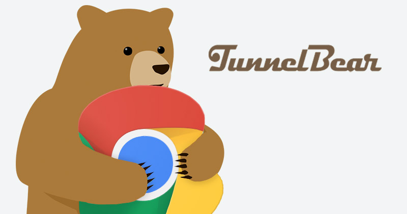 TunnelBear for Chrome – Popular, Free, and Uber-Easy to Use