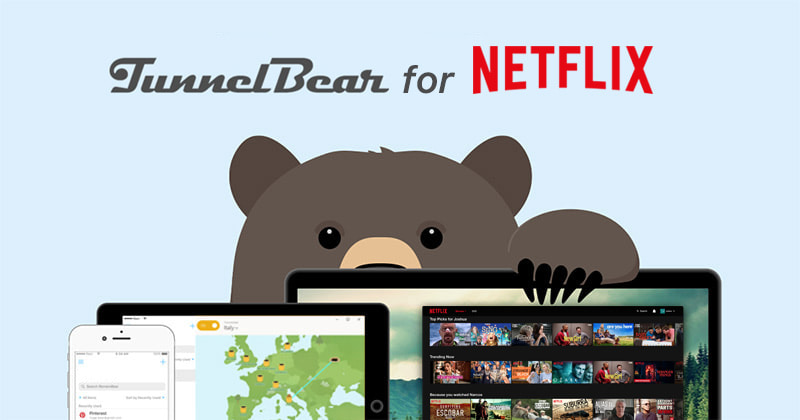 Tunnelbear for netflix
