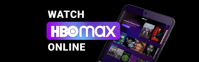 Watch HBO Max online