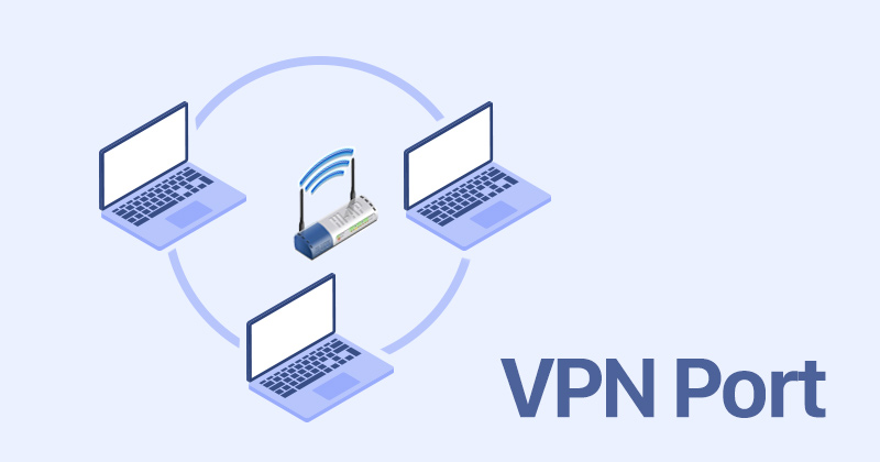What is a VPN port?