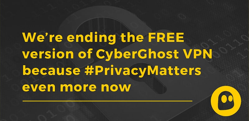 CyberGhost canceling the free version?