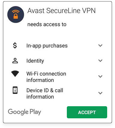 Avast VPN for Android