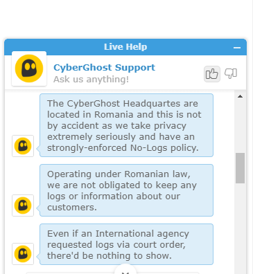 CyberGhost Support 1