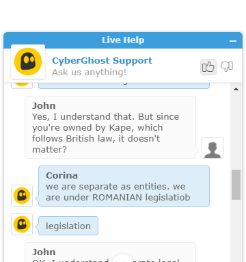 CyberGhost Support 2