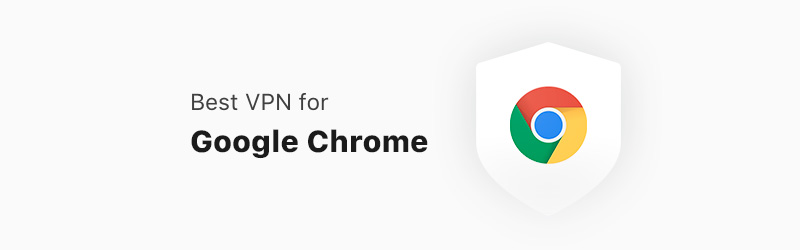 chrome logo and post title