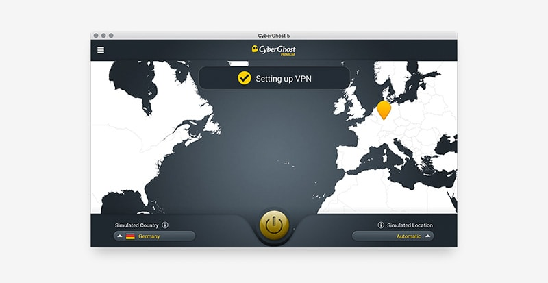 CyberGhost - one of the top vpns for australia