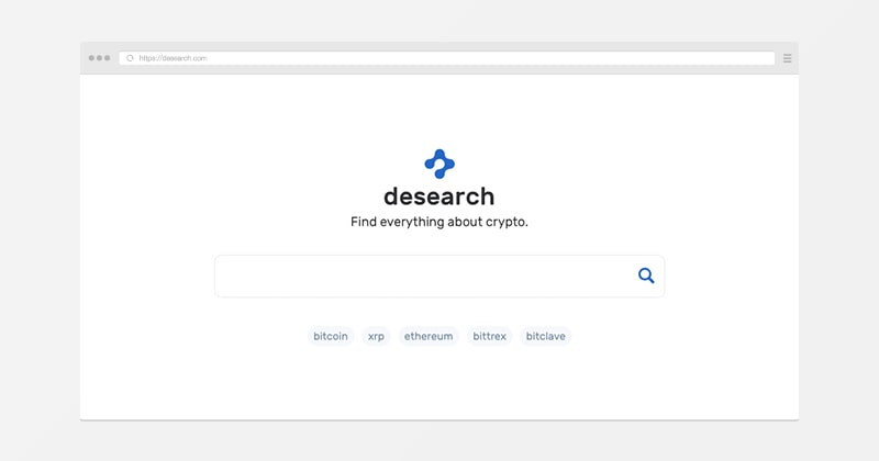 DeSearch - private search engine