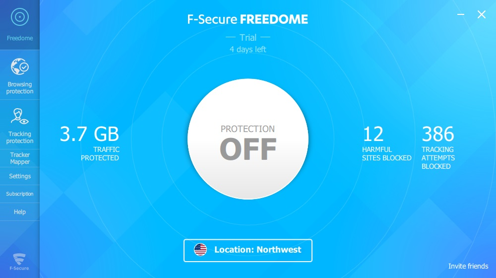 How to use F-Secure Freedome
