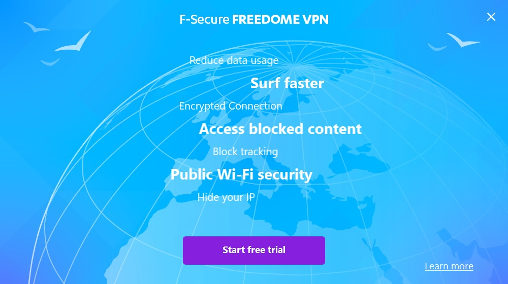 Freedome VPN free trial