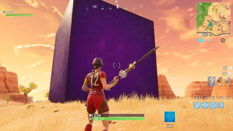 The Fortnite Cube