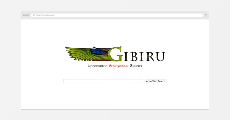 Gibiru - private search engine