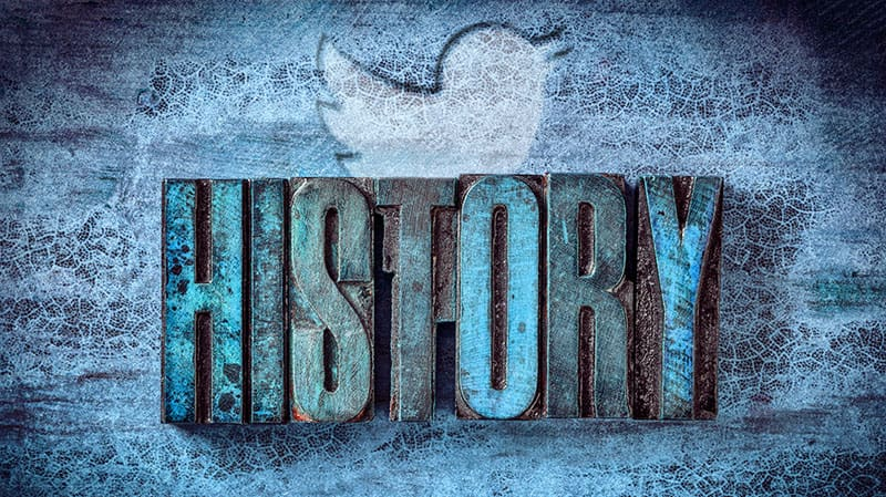 history of Twitter