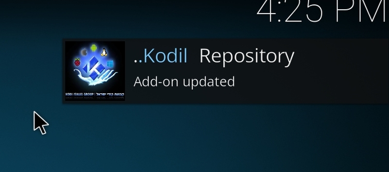 Kodil installed successfully