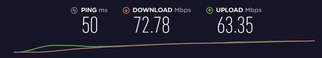 nordvpn speed test in germany