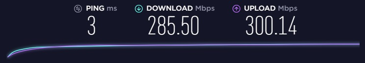 Perfect Privacy speed