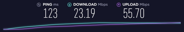 Perfect Privacy speed in New York