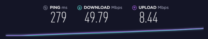 purevpn speed in Europe and Japan