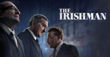 The Irishman cover: 3 men and a name of the show