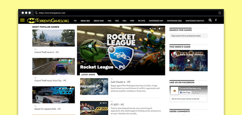 best torrent sites for games pc