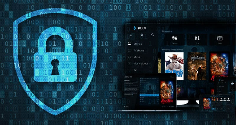 use VPNs with Kodi