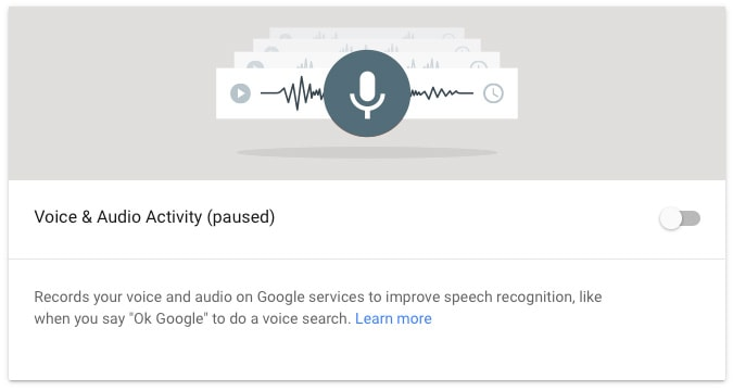 does google voice use data
