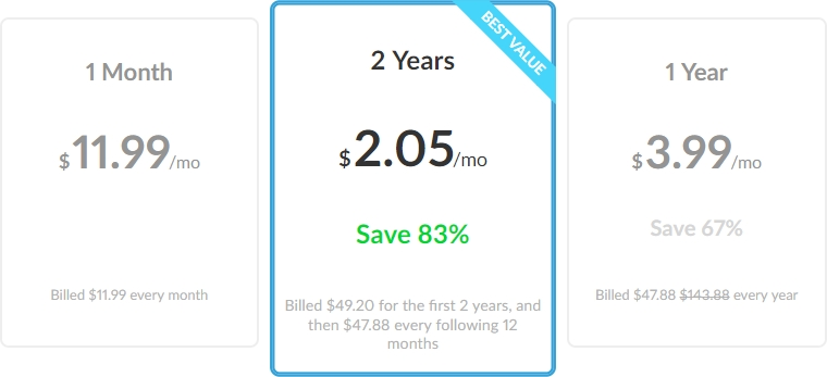 ZenMate review pricing plans